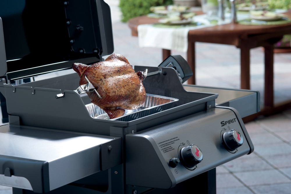 Weber shop weber girarrosto a motore weber spirit serie for Giordano shop barbecue a gas
