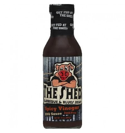 The Shed Spicy Vinegar BBQ Moppin Sauce, 350 ml