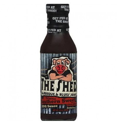 The Shed BBQ Original Southern Sweet BBQ Sauce, 350 ml