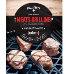 """Ricettario Weber Meats Grillings"""" 311275"""""""
