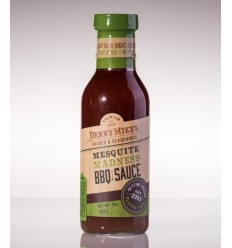 Denny Mike's Mesquite Madness BBQ Sauce 330 ml