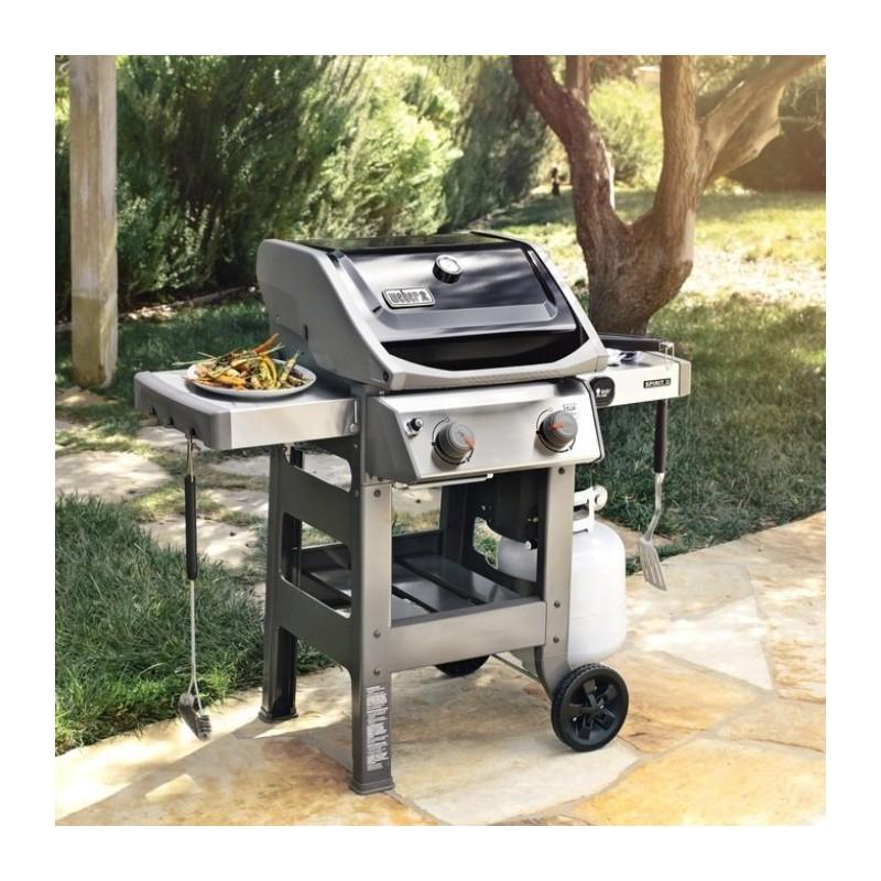Weber shop barbecue a gas spirit ii e 310 black weber for Giordano shop barbecue a gas