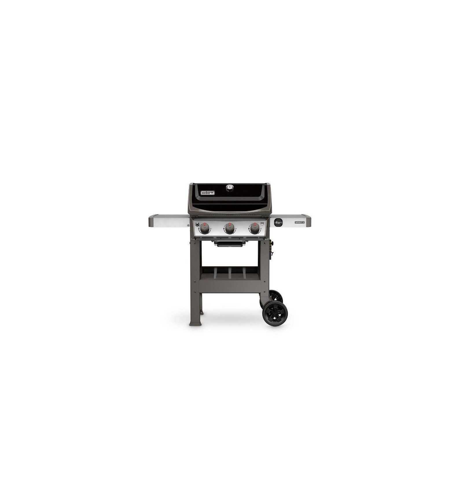 Weber shop weber barbecue a gas spirit ii e 310 black for Giordano shop barbecue a gas