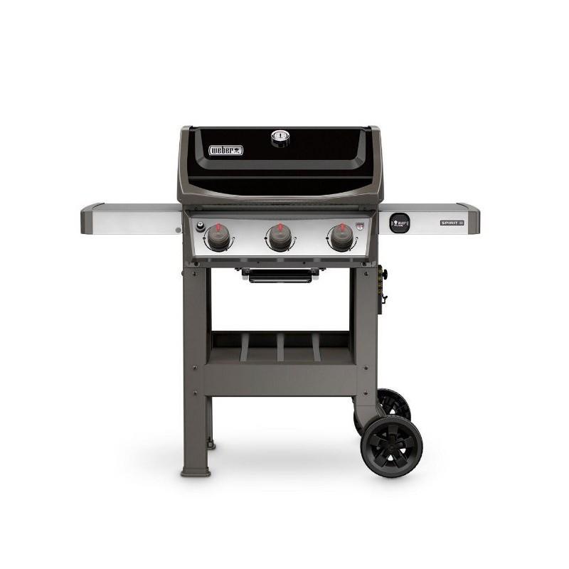 Weber shop weber barbecue a gas spirit ii e 310 black for Giordano shop barbecue a gas