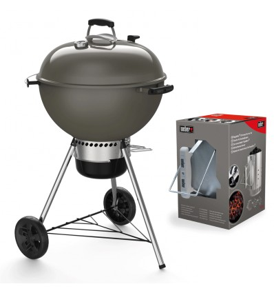 Barbecue Weber a Carbone Master-Touch GBS E-5750 Black 14701004