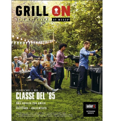 GRILL - ON 2015 Magazine by Weber - Dowload Gratuito